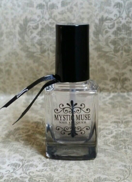 Mystic Muse Crystal Clear Topcoat Is Non Yellowing 5 Nail Polish