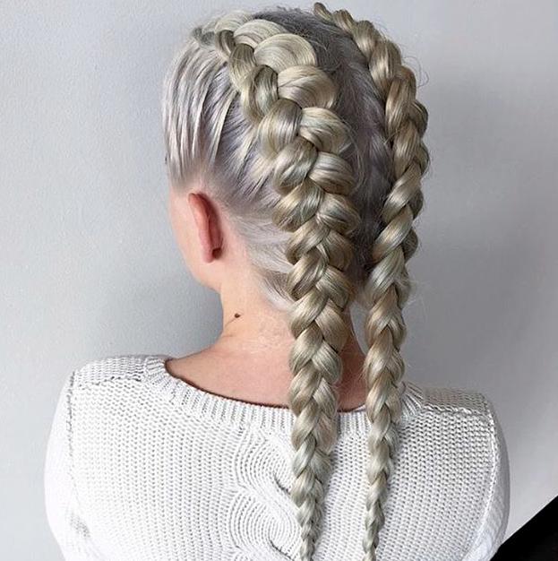 White Girl Braids In 2019 Braided Hairstyles Cornrows