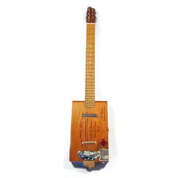 Aroma De Cuba 6-String Guitar, $778, now featured on Fab.    ~ cigar box guitar....omgwut?