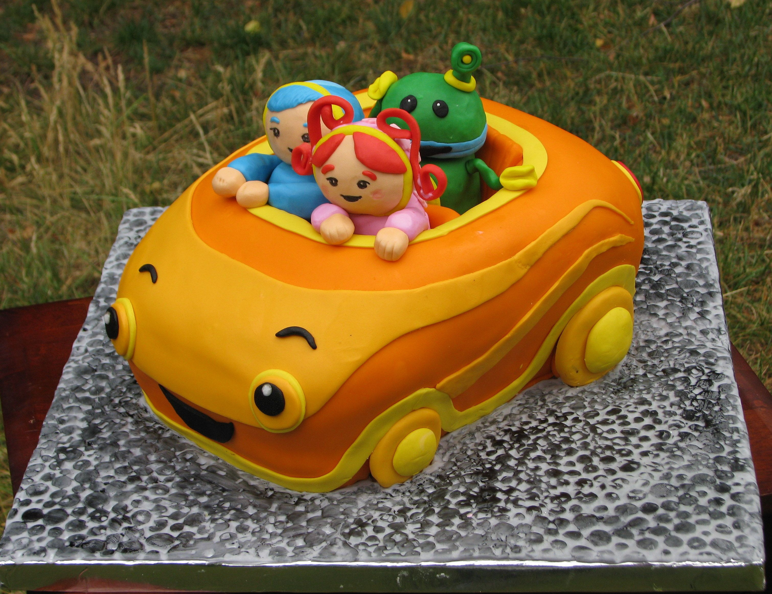 Team Umizoomie Cake ~ Umi Car! | Birthday | Pinterest ...