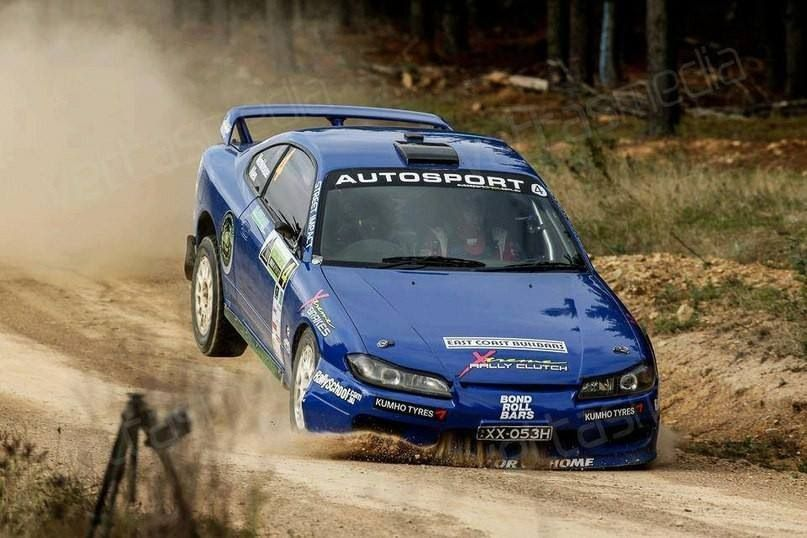 Nissan Silvia S15 Rally Coches Japonesas