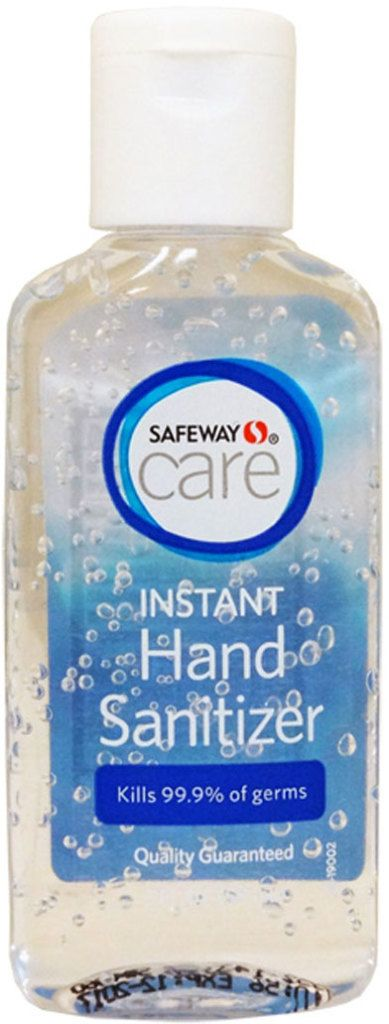 Safeway Instant Hand Sanitizer 2 Oz 12 2017 Date Moisturizing And