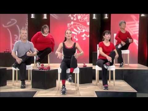 Sit Down Tone Up Encore Chair Pilates Youtube A