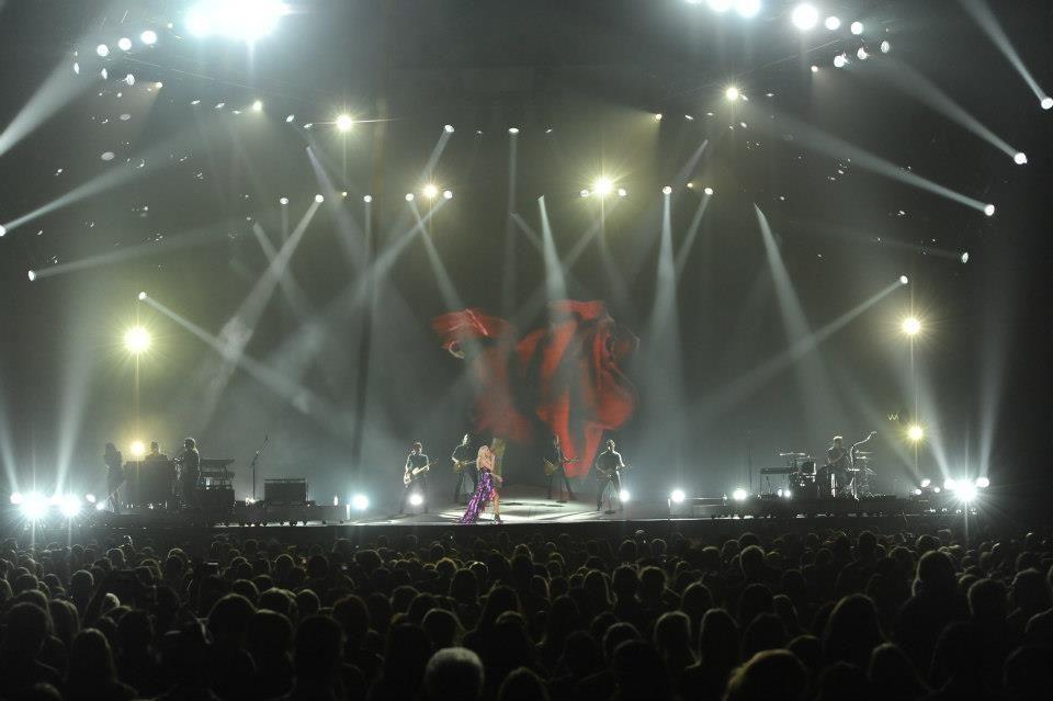 2012 Carrie Underwood Blown Away Tour (Oct. 21, 2012) at Jobing.com Arena. Photo Credit: Norm Hall/Jobing.com Arena