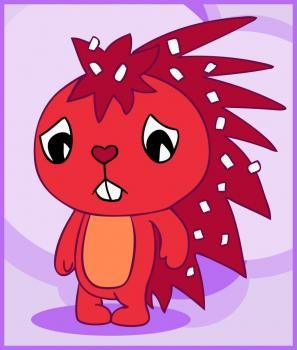 how to draw flaky from happy tree friends | Stuff I would love