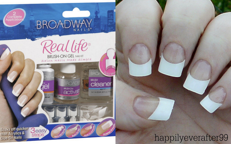 Broadway no light gel nail kit videodemo diy gel nails