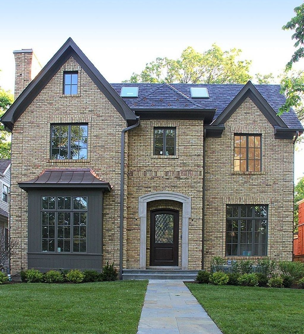 Top Styles Yellow Brick Home Inspirations Ideas29 Brick Exterior House Yellow Brick Houses Brick House Exterior Colors