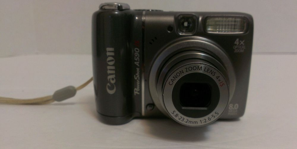 Canon Powershot A590 Is Digital Camera Excellent Condition Powershot Digital Camera Canon Powershot
