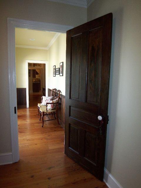 Wood Interior Doors With White Trim dark doors, white trim | doors | pinterest | dark doors, white