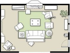 How To Arrange Furniture In A Family Room | Furniture placement ...
