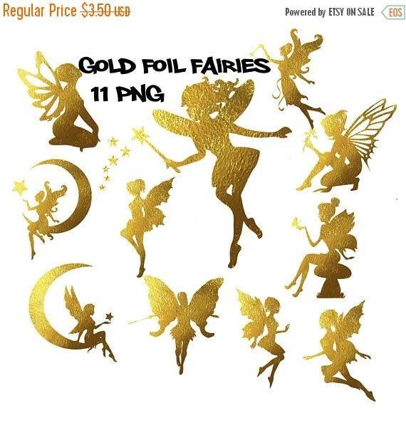 Fairy gold. Clipart foil fairies fairytale