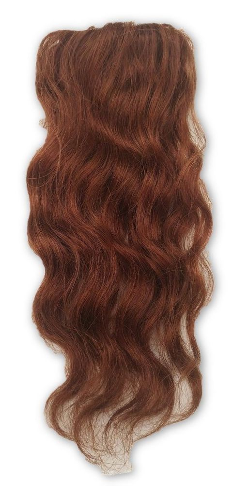 81416 100 Human Hair Undetectable Wavy Clip In Filler Seamless