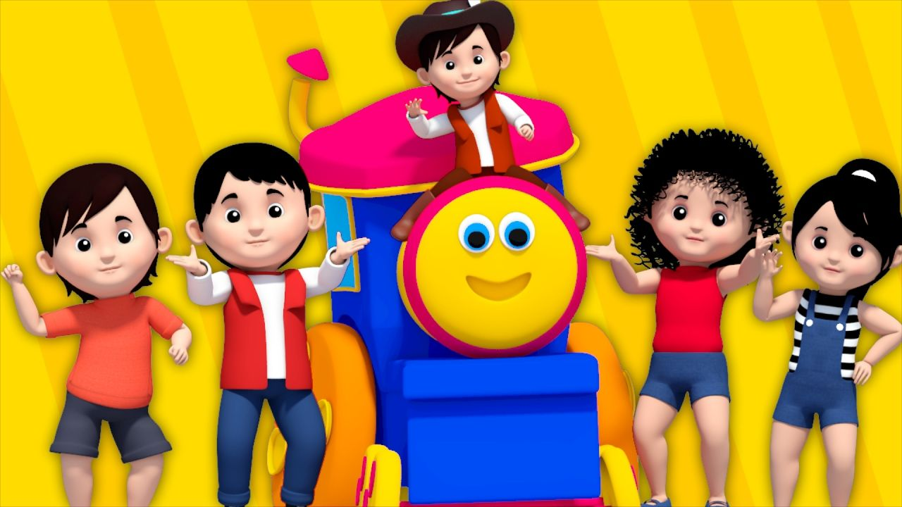 Hey childern, your favorite friend Bob, the Train is here with one of his favorite rhyme Yankee Doodle for all of you..Isn't it your favorite rhyme too? Hop along and sing this song with bob and share it with your baby friends as well..  #kidstv #bob #bobthetrain #rhyme #nurseryrhyme #kidssong #kidsrhyme #kidsvideo