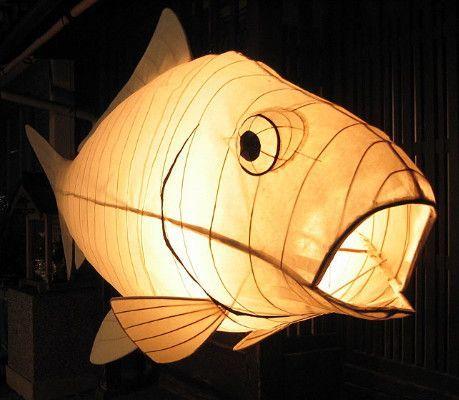   Lámparas de papel, Arte de