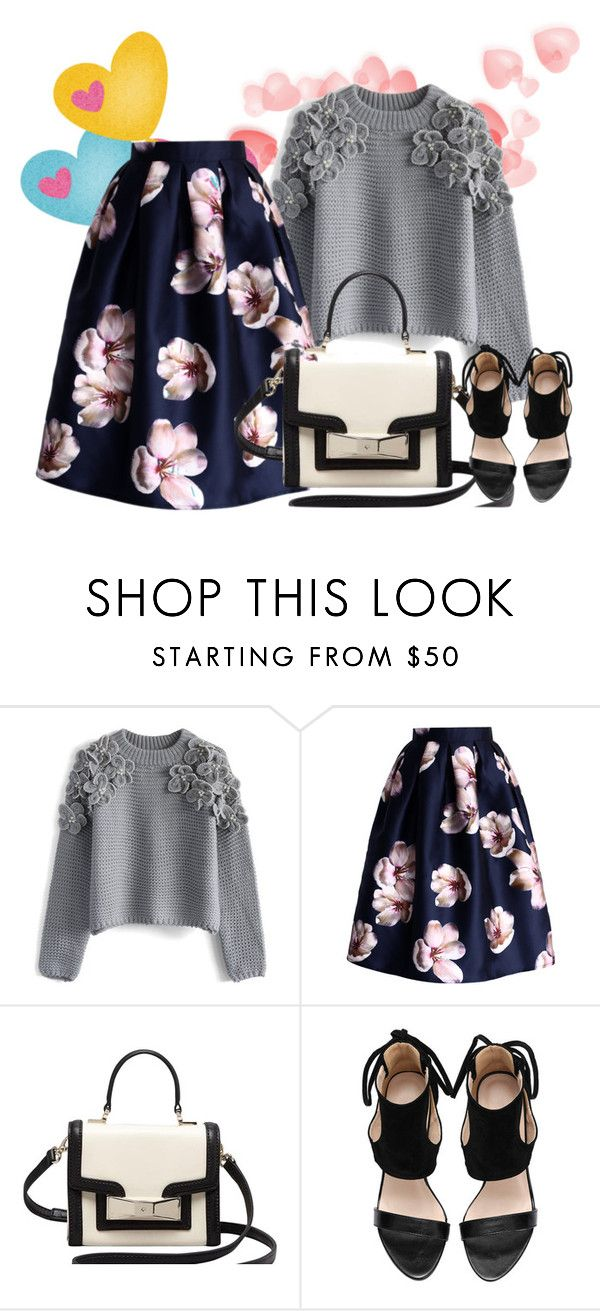 Early spring by chicwish on Polyvore featuring Chicwish, Kate Spade, women's clothing, women's fashion, women, female, woman, misses and juniors