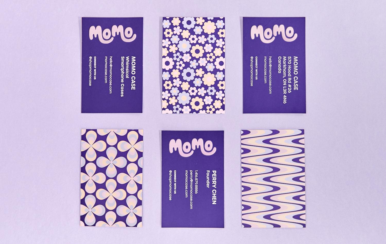 Momo Business Cards Graphic Design Studios Digital Design Branding