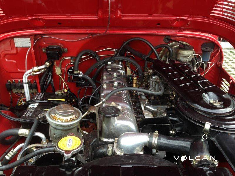 Estella 1982 Toyota Land Cruiser Fj43 Clean Engine Bay From