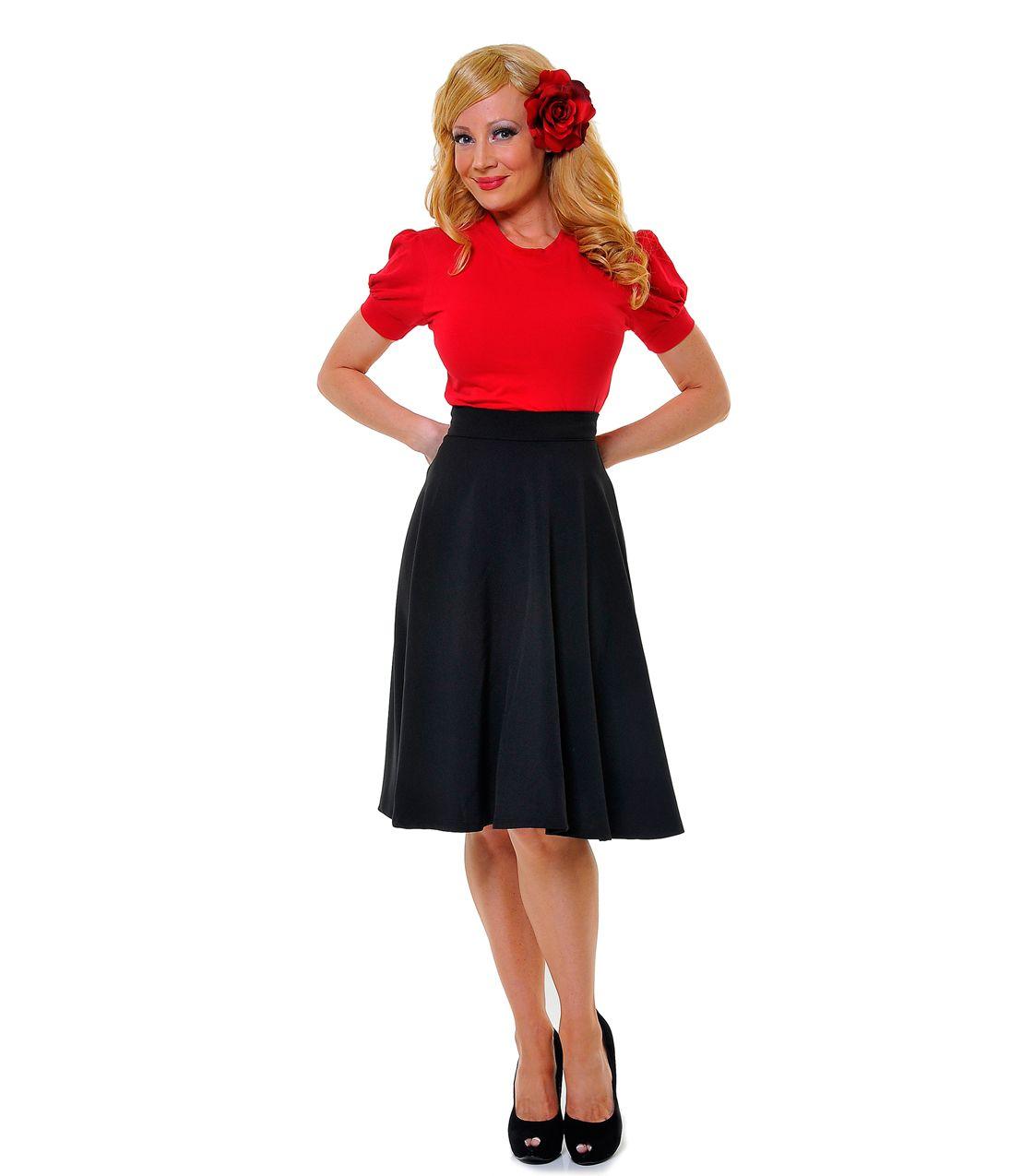 Best seller black high waisted thrills skirt unique vintage