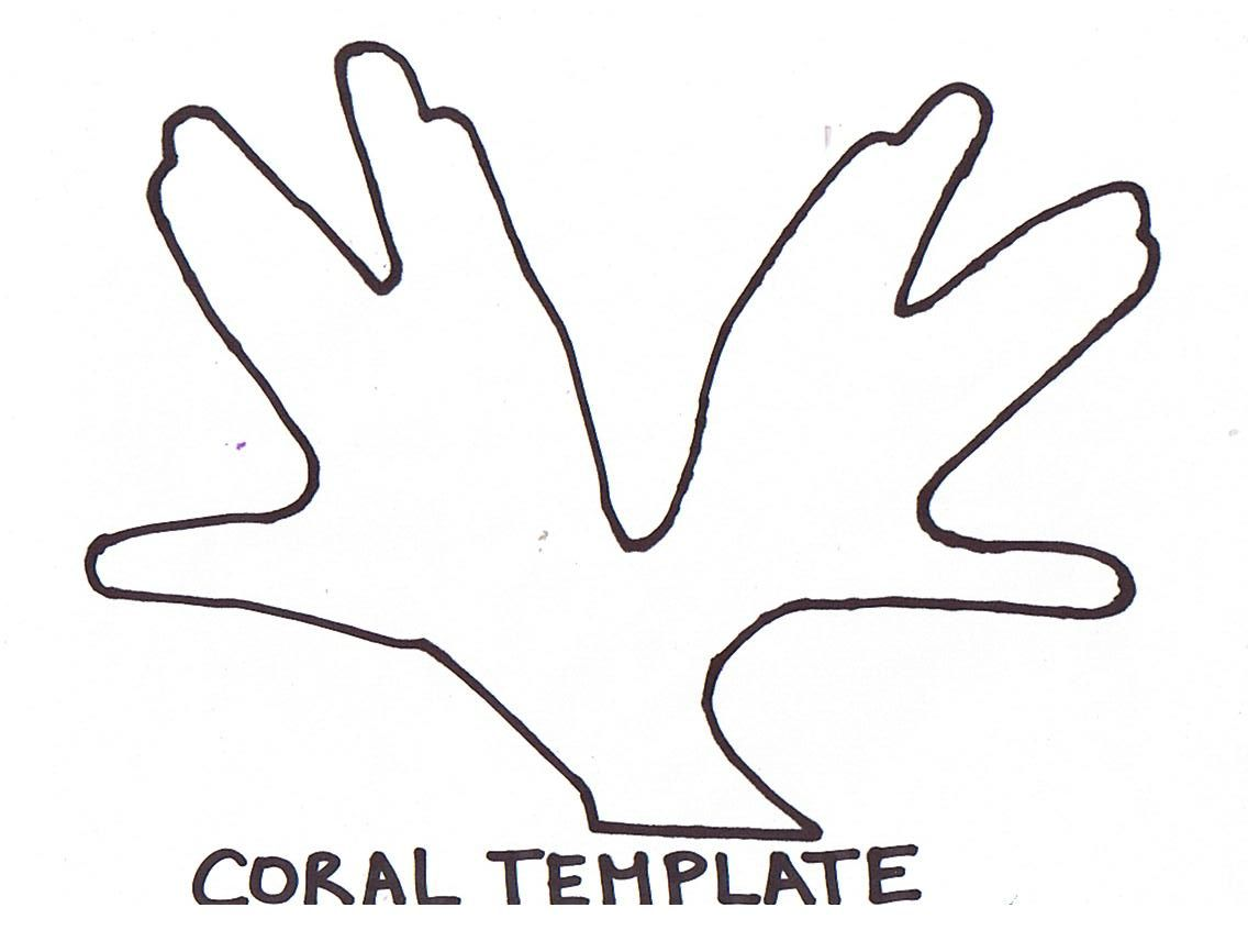 Coral template | Coral Reef | Pinterest | Template, Vbs 2016 and ...