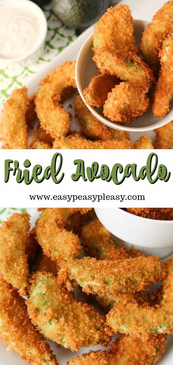Avocado lovers beware! These fried avocados are totally addictive and a perfect appetizer for your