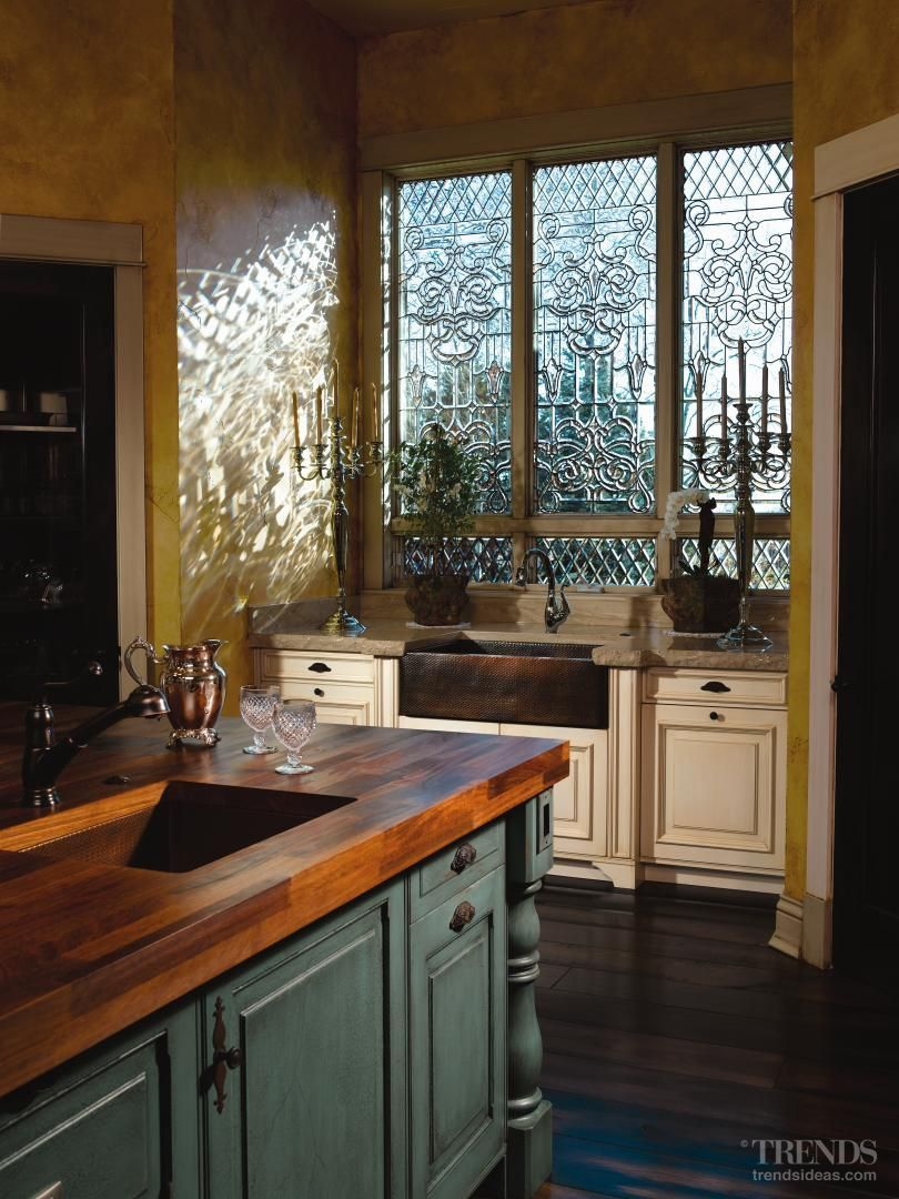 Love That Copper Farmhouse Sink And Those Windows Are