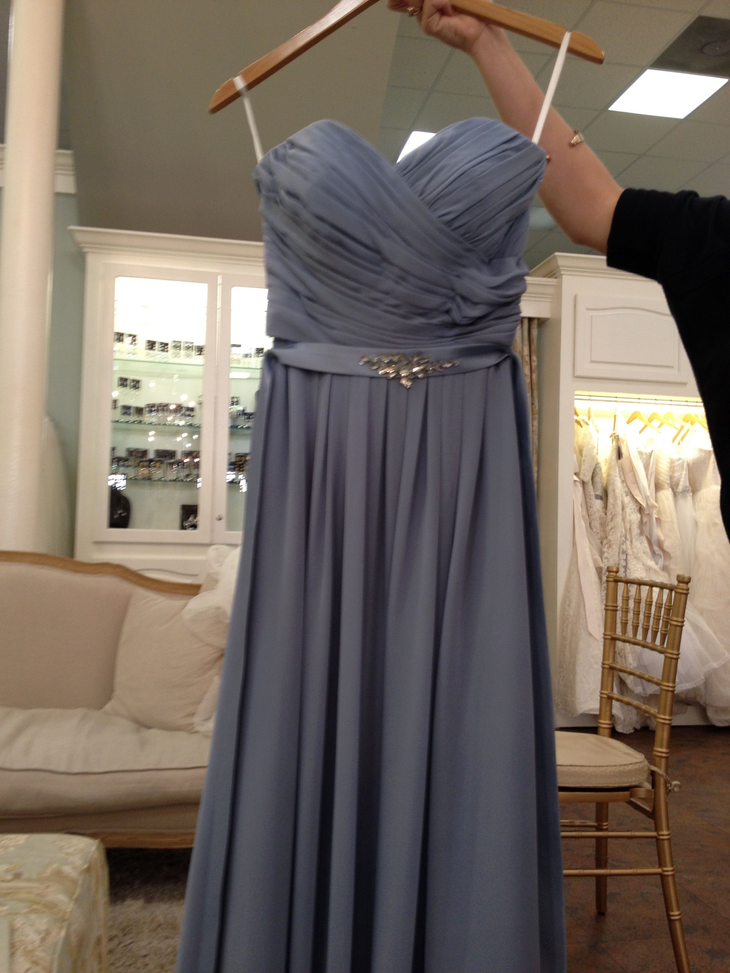 Slate Bridesmaid Dresses for Shoes