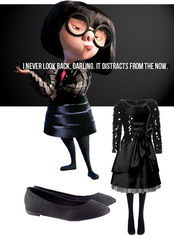 """""""Edna Mode"""" by trumpetextreme ❤ liked on Polyvore"""