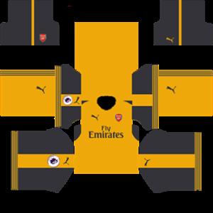 Arsenal Kits 2016 2017 Special Dream League Soccer In 2020 Arsenal Kit Soccer Kits Arsenal