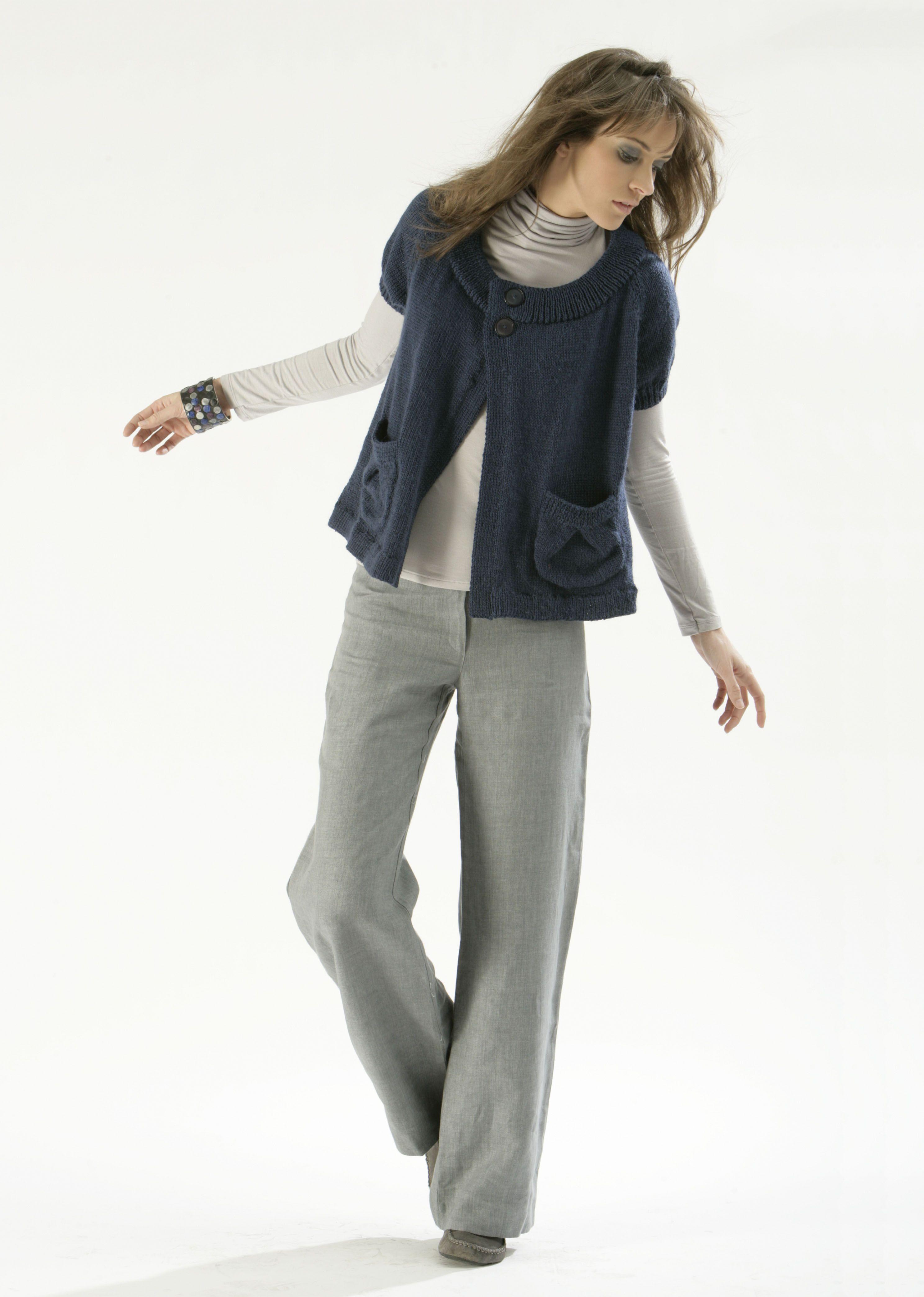 Modèle de tricot - Gilet Femme - Catalogue Cheval Blanc n°10 - Laine ...