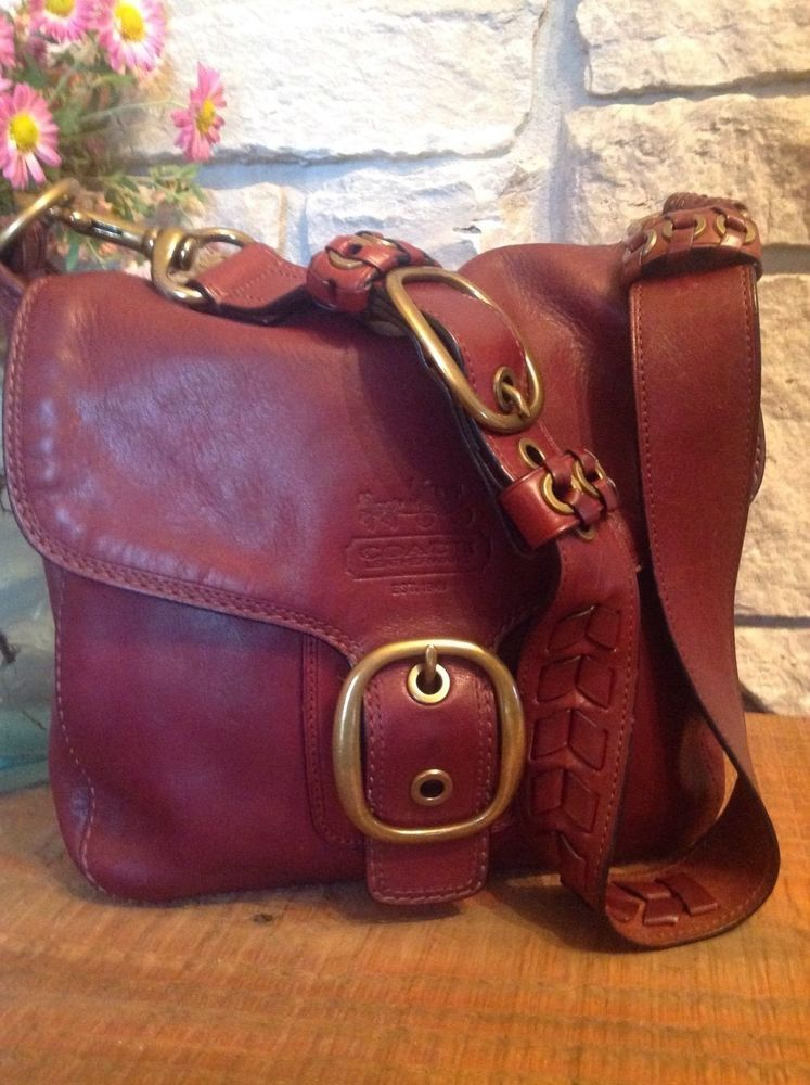 ... clearance coach whiskey wine leather legacy tattersall bleecker vintage  flap satchel 11419 coach shoulderbag 8bb89 763f8 e6b91c91c49d9