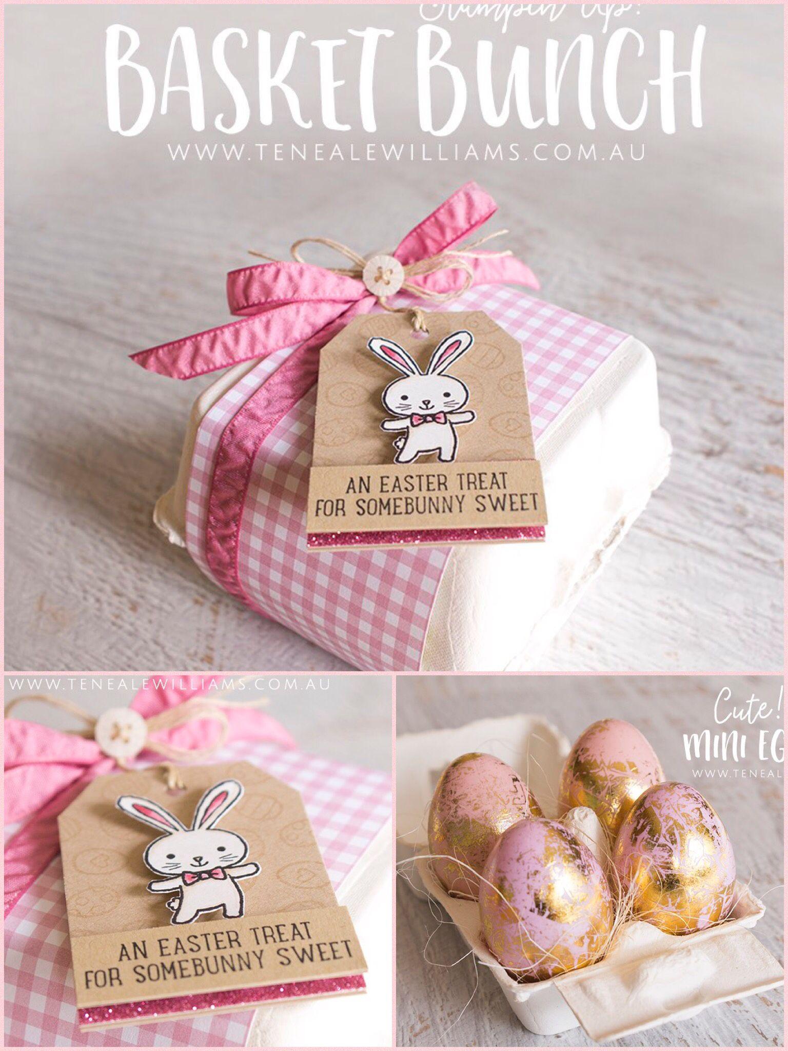 Basket Bunch Easter bunny mini egg carton