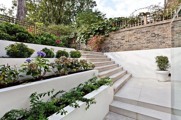 Piante Per Recinzioni Giardino.Idee Per Il Giardino Recinzione Con Muro E Ringhiera In Ferro