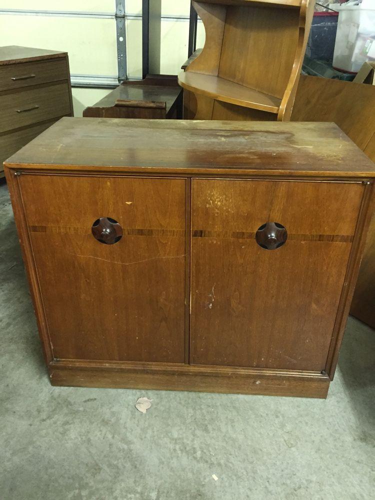 Vintage THOMASVILLE Chair Company 1959 Storage Cabinet