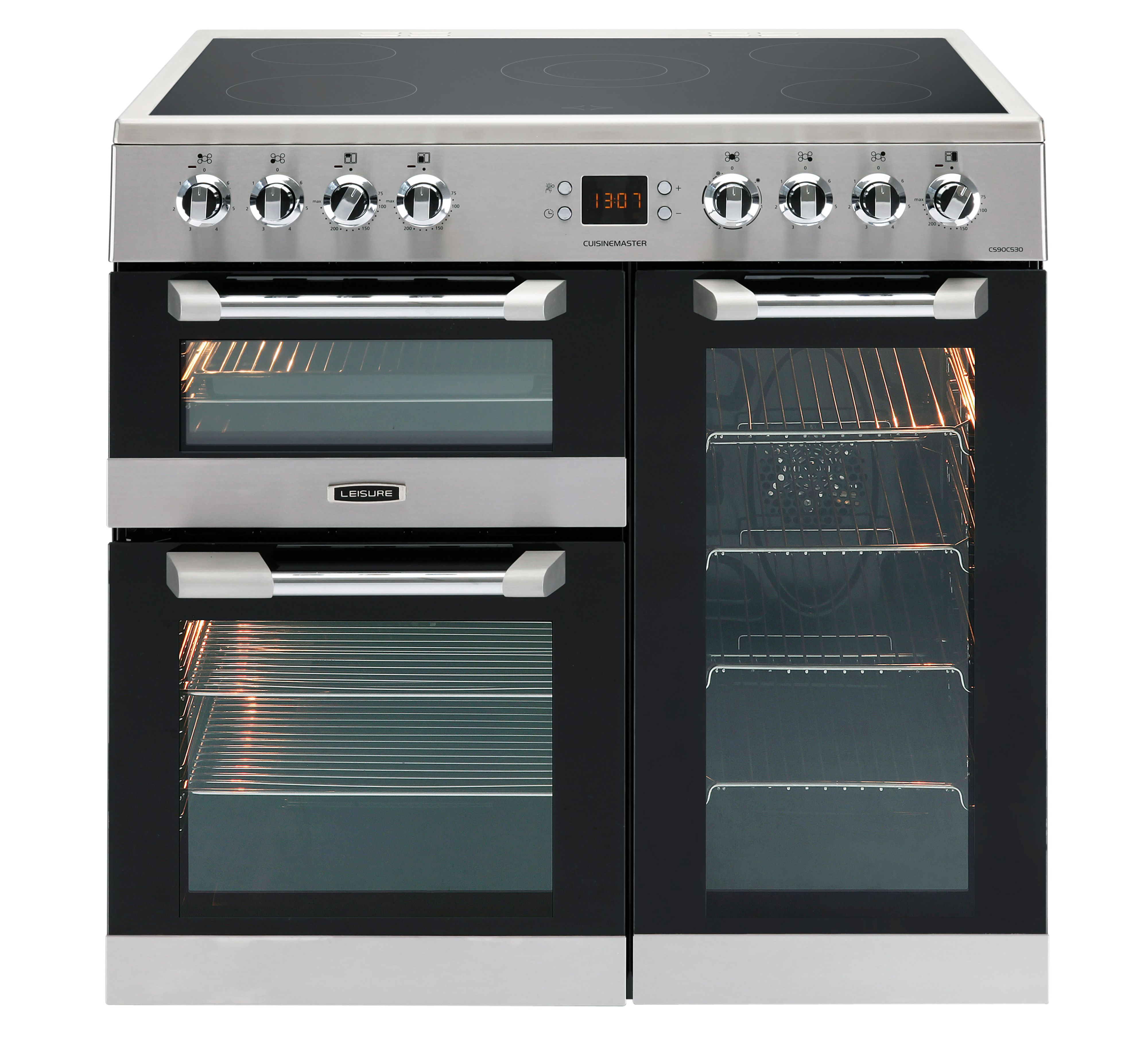 Range Cooker leisure freestanding electric range cooker with ceramic hob