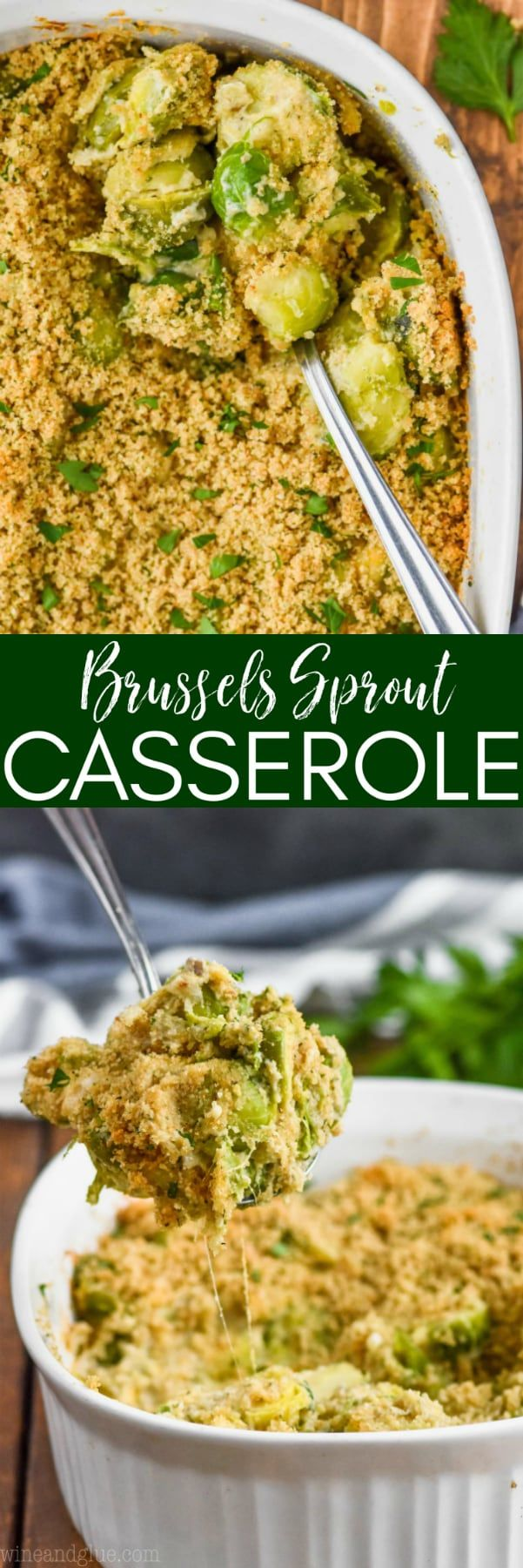Baked Brussel Sprouts Casserole