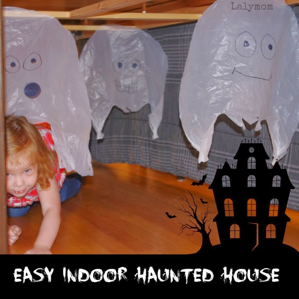 Easy Indoor Halloween Obstacle Course for Kids | Scariest haunted ...