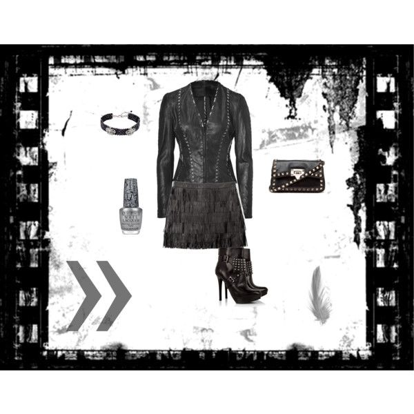 Hot Night Out, created by dee-minor on Polyvore