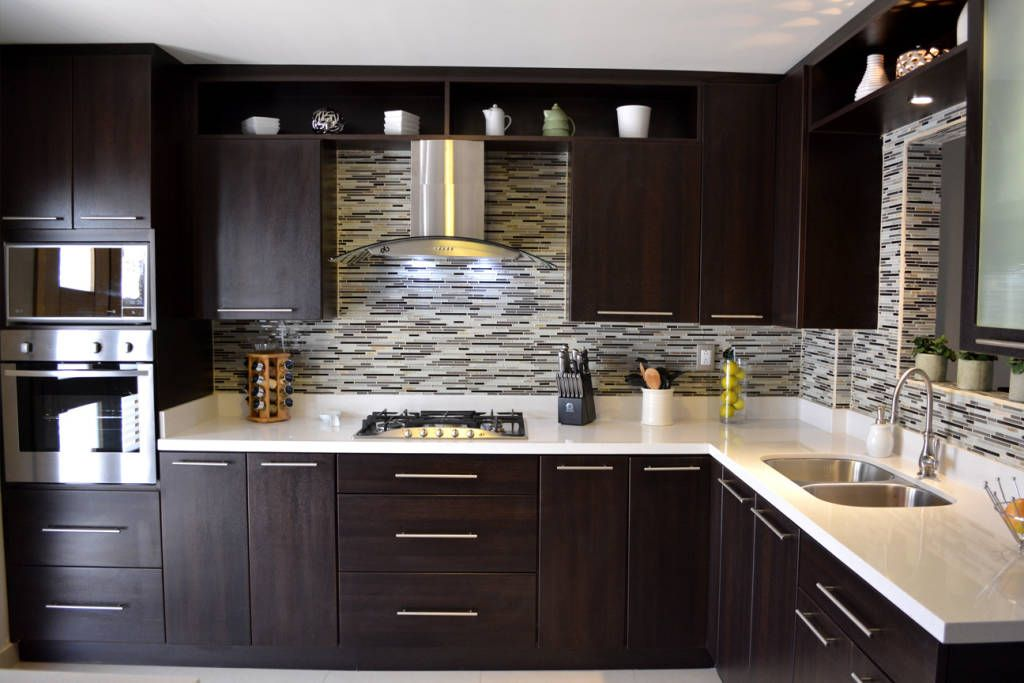 Diseños de muebles de cocinas de melamina modernos | MUEBLES COCINA ...