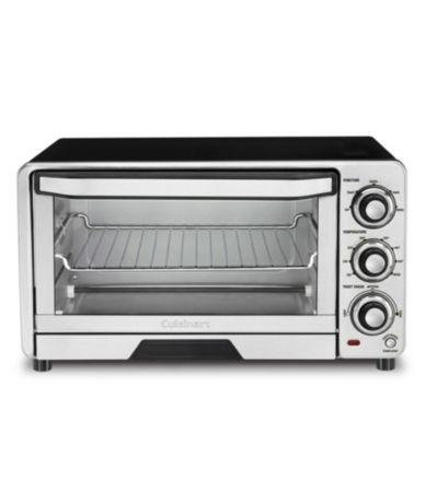 Cuisinart Custom Classic 4 Slice Toaster Oven Dillard S In 2020 Cuisinart Toaster Oven Cuisinart Toaster Stainless Steel Toaster