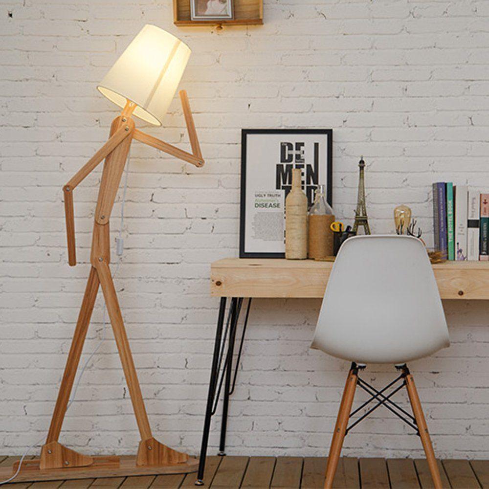 KKG® Holz Original-1.6m Stehleuchte Raum Stehleuchte Variety ...