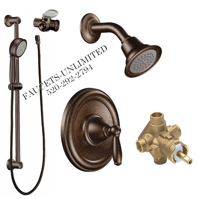 Moen Brantford Shower And Handshower System With Valve In Oil