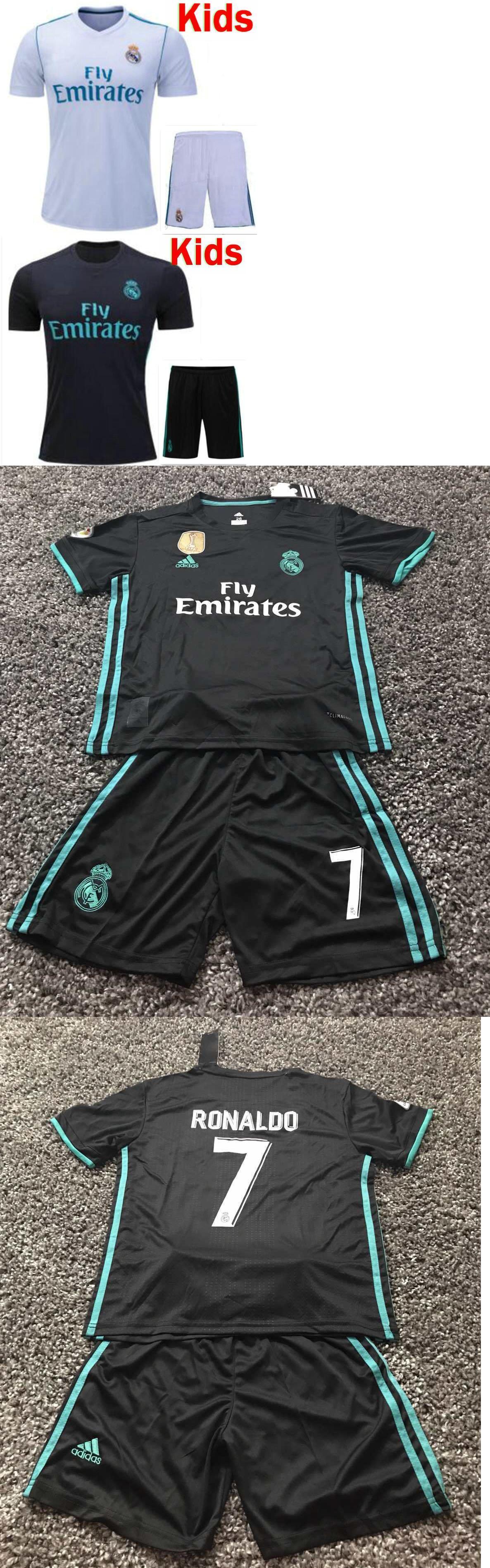 Youth 159099  2017-2018 Real Madrid Home And Away Jersey Ronaldo  7 Kids 2cbf5008f