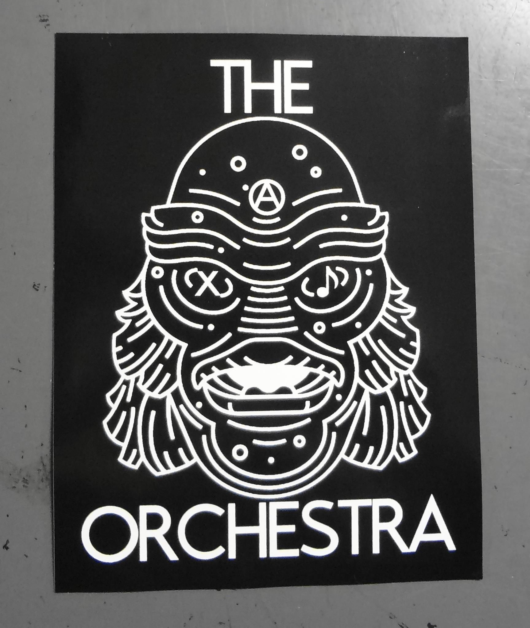 The Orchestra Stickers Decals Swag Pinterest Prints - Promotional custom vinyl stickers business