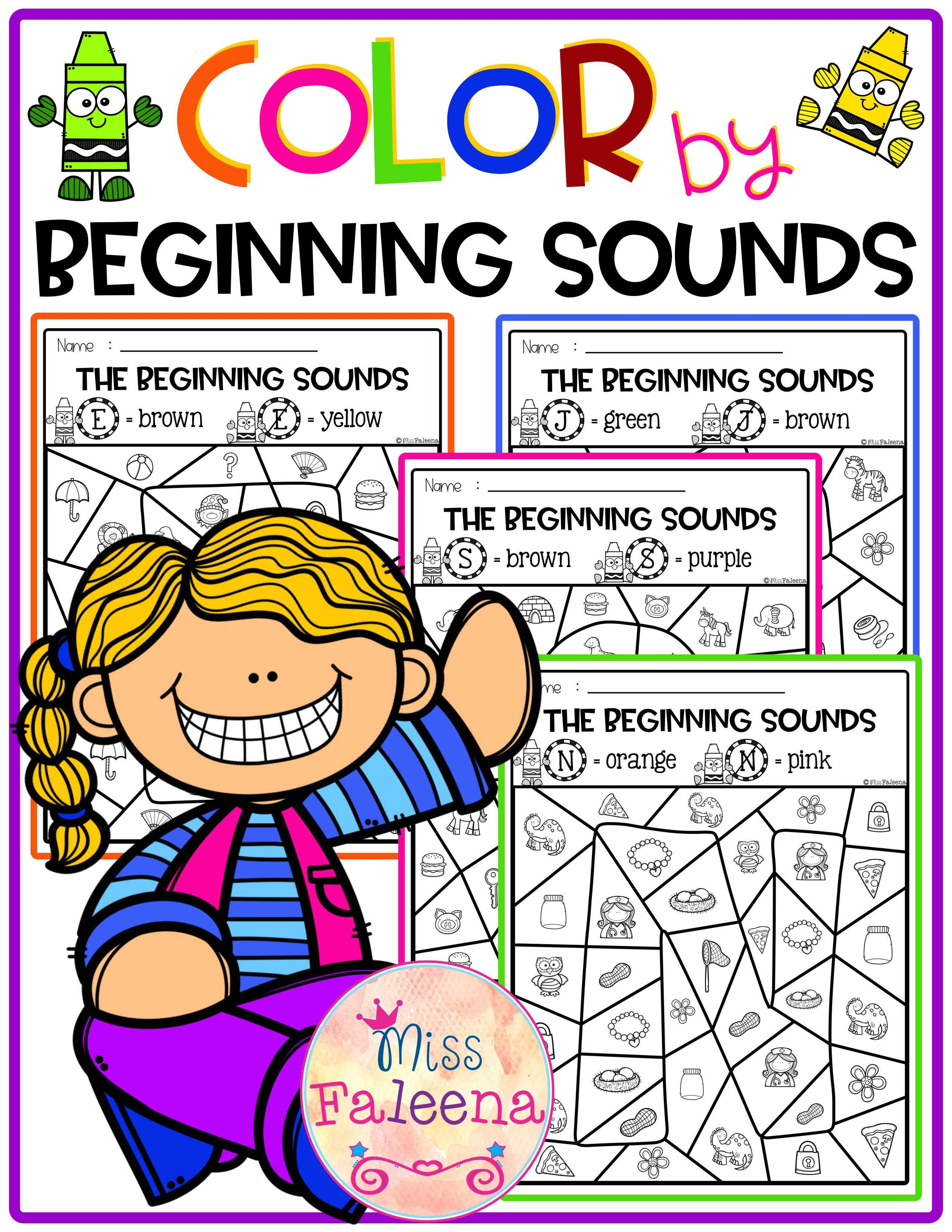 Color By Beginning Sounds