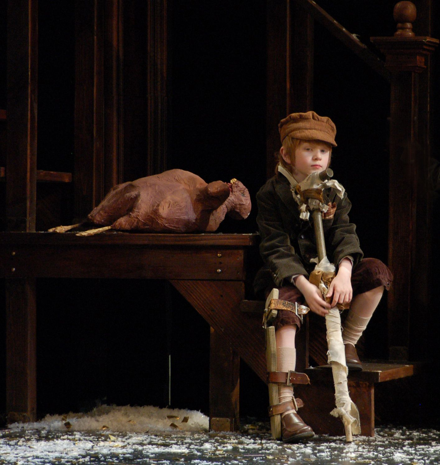 Image Result For Christmas Carol Tiny Tim Puppet