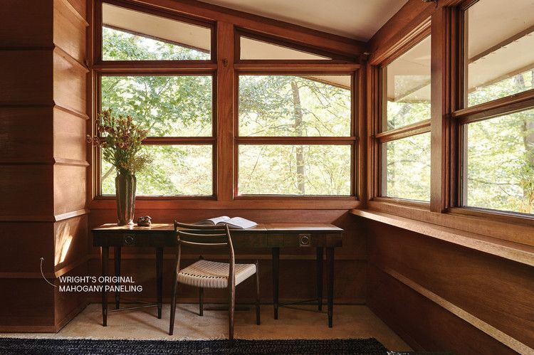 Photo of Tour a Recently Redesigned Frank Lloyd Wright House — House Beautiful