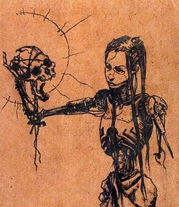 half human half robot | Art and Inspiration | Pinterest ...