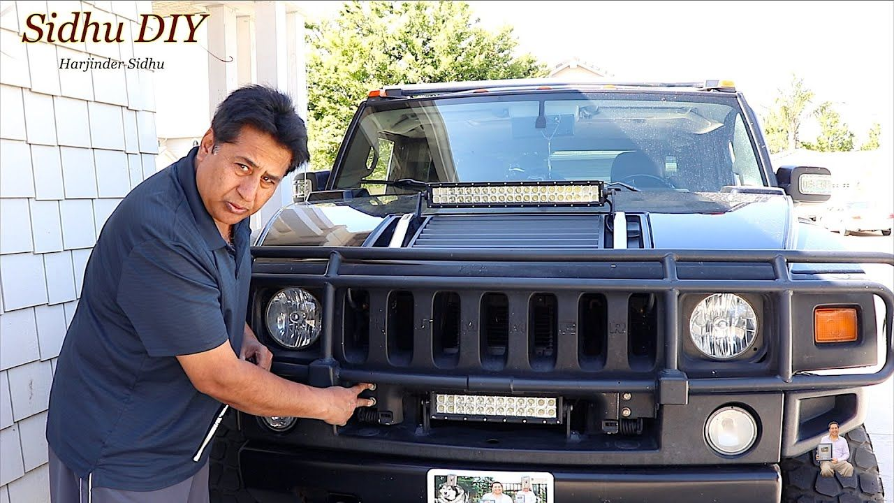 Grille Guard Removal On Hummer Hummer Grilles Guard