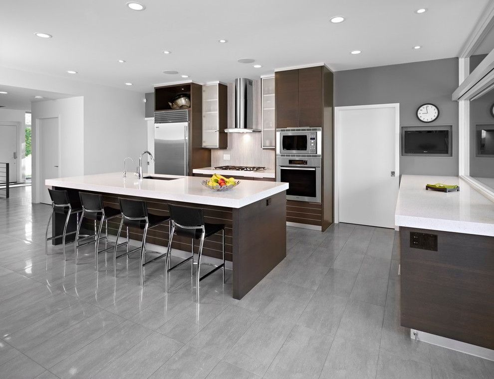 SD House - modern - kitchen - edmonton - thirdstone inc ...