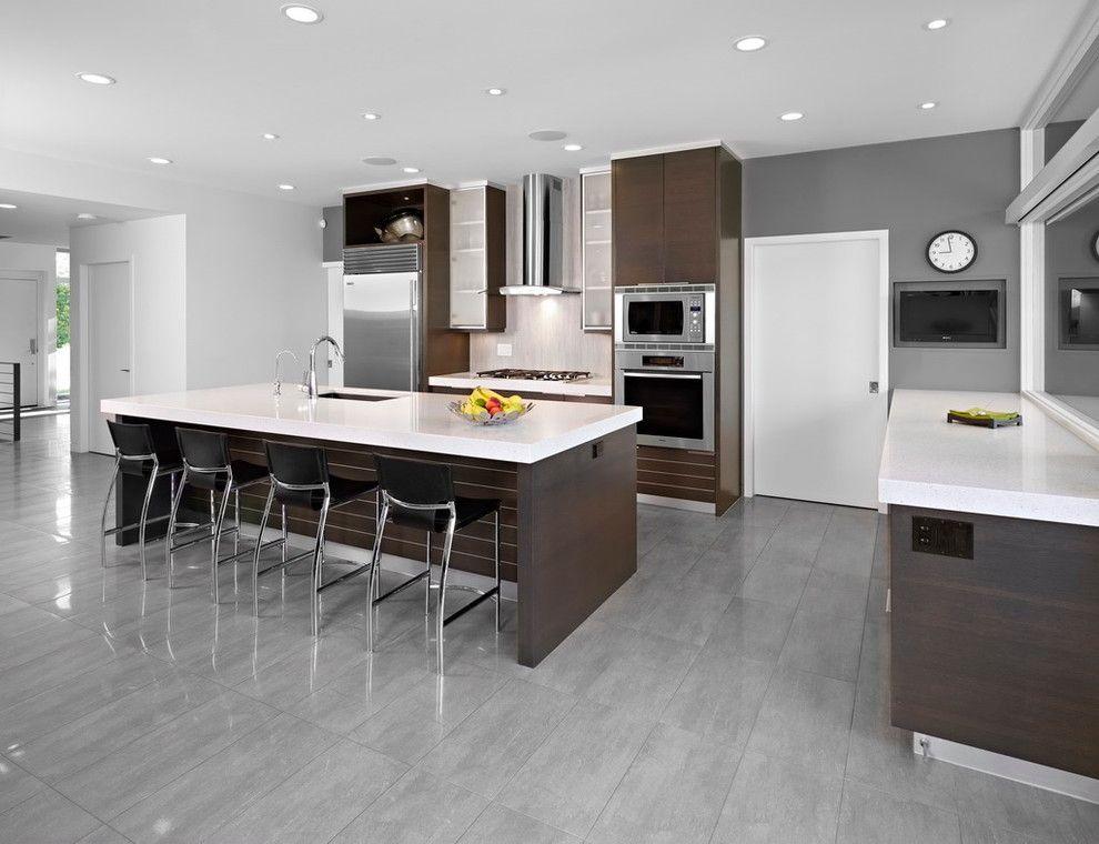 kitchen design edmonton. SD House  modern kitchen edmonton thirdstone inc